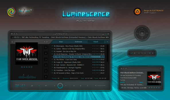Luminescence by ELECTRON1CK