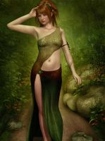 Lindsay the Nymph by FWArt