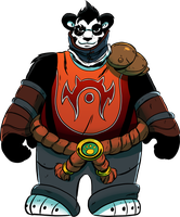Pandaren Monk by angieness