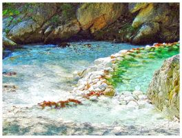 Pool under the pool, green above the blue by Sandrita-87