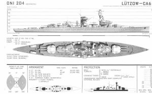 Technical Drawings: KMS Lutzow by bwan69