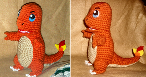 Charmander Plush by W0IfDreamer