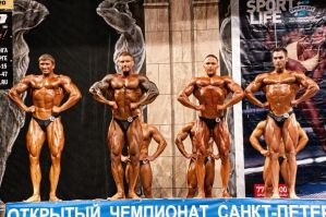 Bodybuilding competition by vishstudio