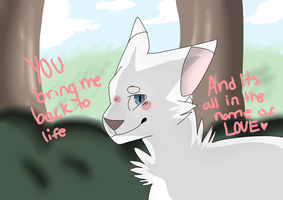 In the name of love||Fanart by jayfeather009