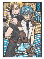 Star Ocean 3 ACEO by shuufly