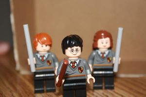 Lego Potter and friends by yellowhellmate