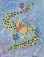 Floating Pooh Bear by Angelic14