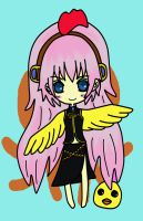 Vocaloid chibi chicken ruka by jaysanzo