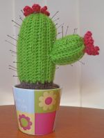 Crochet Cactus Pin Cushion by maggieambi