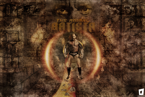 Batista The Animal Wallpaper by Omarison