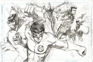 Green Lantern Corps by Peter-v-Nguyen