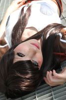 Tifa : Brown eyes by princess-soffel