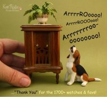 Arrrrooo! Thank you by Pajutee