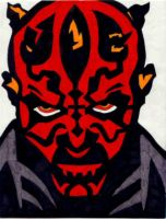 Darth Maul by Kamino185