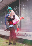 I wanna hug you - Ranka and Alto Cosplay by Hainecch