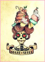 Sugar skull. by leirivera03