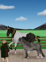 Ivar and Bodil: Freestyle training with Josefine by Moshpikachu
