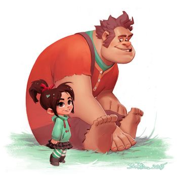 Wreck-it Ralph by NorseChowder