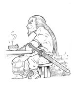 barbarian and pea soup by zunnu