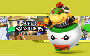 Bowser Jr. Wallpaper - Super Smash Bros. Wii U/3DS by AlexTHF