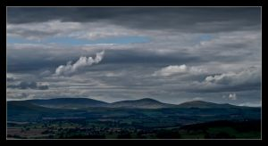 The Cheviot Hills by ExSLR