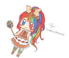 Chromatic Candy- Adopty :3 ==CLOSED== :D by SophiaAmeena