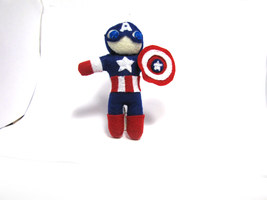 Captain America Plush by Ginger-Storm