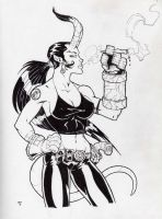 HellGirl Bustin Up by Kid-Destructo