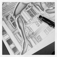 Catwoman in Gotham - WIP by jonathan-hillmer