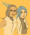 Janessa and Mizu by I-MEND