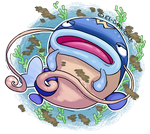 PokeCollab: Whiscash by El-Dark-Core