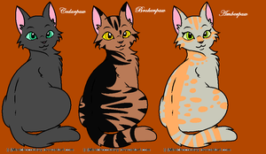 3 New Apprentices by skyclan199