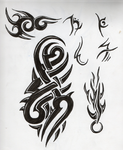 Tattoo designs pg 1 by darkgracedragon