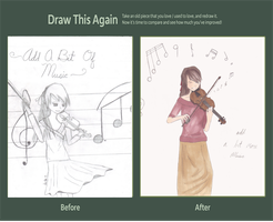 Draw This Again: Add a bit of Music by s6i7