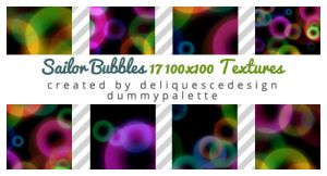 Sailor Bubbles: 17 Icon Texures by deliquescedesign