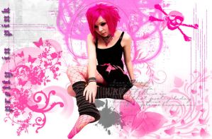Punk Pretty In Pink by pink-hana