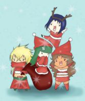 Seasons Greetings by SasuNaru178