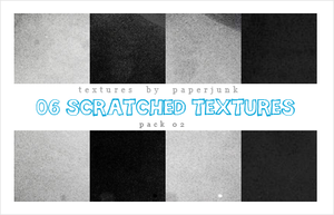 Textures Pack 02: Scratched by PaperJunk