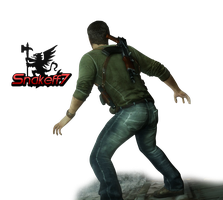 Nathan Drake - Render 8 by snakeff7