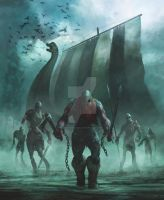 The Viking Dead Book Cover by Gaius31duke