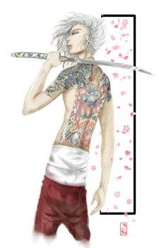 Bishounen look beyond the tattoos and piercings by DGalavez