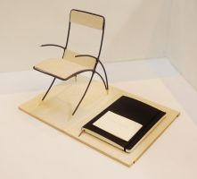 Curving-Chord Chair by CY-ARTistmonkey