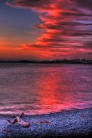 Red Skies of Bonavista by Witch-Dr-Tim