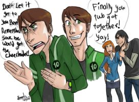 ben10AF: Save the world by bunvin