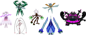 Alternate Shinies: Ultra-Beasts
