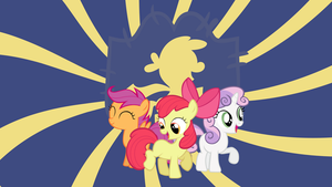We are the Cutie Mark Crusaders - Wallpaper by cradet