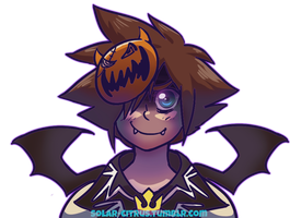 Halloween Sora by SOLAR-CiTRUS
