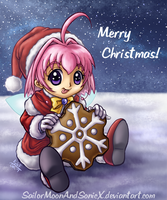 A Snowy Sugar Christmas by SailorMoonAndSonicX