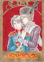 APH- RussiaxPrussia by KimikoToudaiji