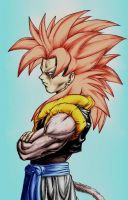 Gogeta SSJ4 - Colored by ssjgogeto